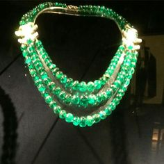 Jaipur emeralds by Cartier of course. As they were exhibited at le Grand Palais in Paris with the Al Thani collection .