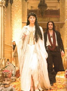 """Tamina and Dastan - Prince of Persia """"it sounds as if you've discovered something here"""""""