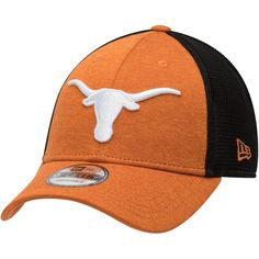 size 40 cf112 39d9a Men s New Era Texas Orange Texas Longhorns Tech Trim 9FORTY Adjustable Hat  Texas Longhorns Hat,