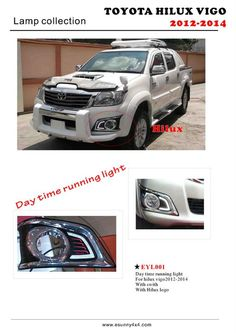 Day running light for hilux vigo Ford Ranger Raptor, 4x4 Accessories, Toyota Hilux, Day And Time, China, Pakistan, Running, Car, Cabinet Design
