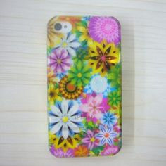 For Apple iPhone 4 4S Hard Case Flowers Phone Cover Protector #cases #case