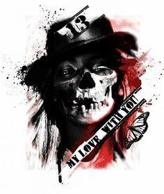 Bildergebnis für Grim Reaper Trash Polka Tattoos