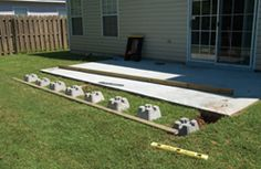 LowDeckTT9 DIY Steps for Building a Deck Over a Patio Slab: The Low Down on Low Decks