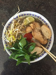 "It's pronounced ""phuh"" not ""foe"" ; some pho from a friend #TTDD"
