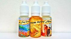 High Class Vape Co. E-Liquid Budget e-juice sample pack