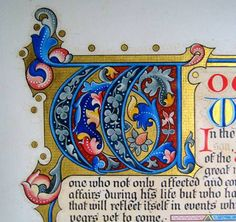 I'm always amazed at the colours on these manuscripts.