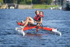 Studierende der FH Kiel wollen ein fliegendes Tretboot bauen.