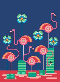 geometric Birds on Behance Ceramic Painting, Fabric Painting, Kitsch Art, Geometric Bird, Whatsapp Wallpaper, Indian Folk Art, Indian Art Paintings, Art For Art Sake, Art Deco Design