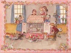 Doll House - Tasha Tudor by cassie