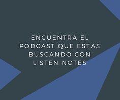 Un completo buscador de podcasts que cuenta con versión web y app para iOS y Android