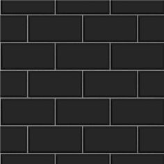 metro black wall tiles texture patterns etc pinterest carrelage texture carrelage et. Black Bedroom Furniture Sets. Home Design Ideas