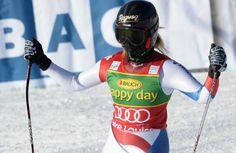 Switzerland's Lara Gut wins Lake Louise super-G