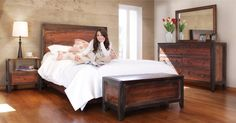 Vecchia Solid Wood Bedroom Furniture Group , http://www.thatfurnitureoutlet.com/...