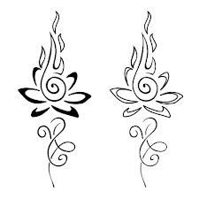 Lotus flame artwork