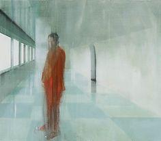 Kenneth Blom, Ankomst, 2009, 140 x 160 cm