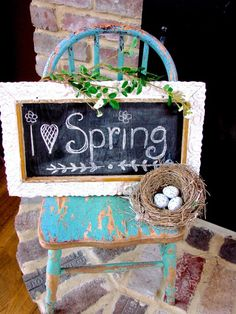 Spring decorating at Sugar Pie Farmhouse