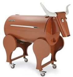 Check out this awesome Longhorn grill/smoker!