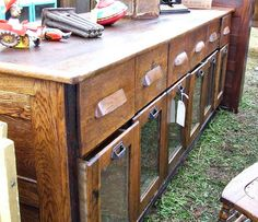 vintage store counters | store display counter looking at back of vintage store counter used to ...