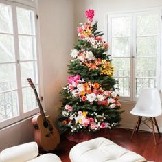 DIY Floral Tree (via Design Love Fest)