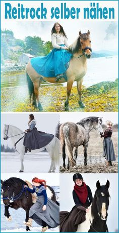 Sew riding skirt yourself - free pattern & instructions - crochet, embroidery . - Sew riding skirt yourself – Free pattern & instructions – Crochet, embroidery & knitting – - Easy Knitting, Knitting For Beginners, Knitting Patterns, Sewing Patterns, Crochet Patterns, Best Christmas Presents, A Christmas Story, Floral Patches, Softshell