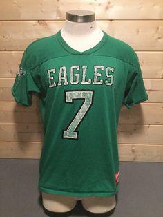 01095419230 Vintage 1980's Philadelphia Eagles Ron Jaworski Rawlings Jersey T-Shirt  Awesome