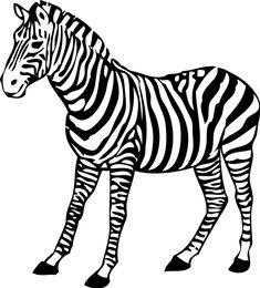 zebra malvorlage zum ausdrucken und ausmalen kostenlos | malvorlagen zum ausdrucken, malvorlagen