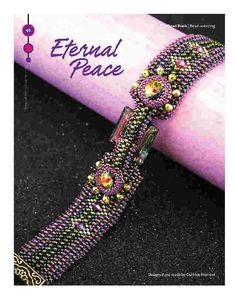 Bead Pattern Tutorial Bracelet with by RianaOlckersBeadWork