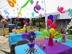 Mad Hatter Tea Party Set Up  Sarsie's Parties - Event Styling and Planning