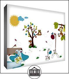 Feel Good Amigos Animales Arte Decorativo Bloque 21 x 14 x 2 cm  ✿ Regalos para recién nacidos - Bebes ✿ ▬► Ver oferta: http://comprar.io/goto/B0100S2BEO