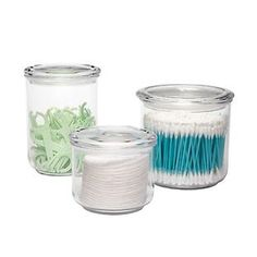 Acrylic Airtight Canisters - clear for tea.