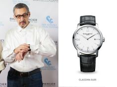 To celebrate his magnificent career, we presented John Turturro with a #Classima 8485 at the San Marino Film Festival. #baumeetmercier