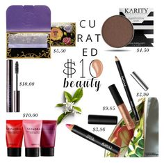 """""""$10 Beauty Buys"""" by eyesondesign ❤ liked on Polyvore featuring beauty, CARGO, Sephora Collection, Anna Sui, Urban Decay, Beauty and 10dollarbeauty"""