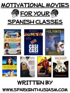 Motivational Movies for Spanish Classes / Las Peliculas Cu #learning #spanish #kids