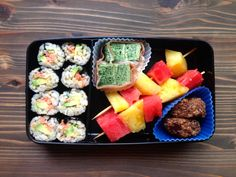 Real Food Bento Box: Salmon-Avocado Sushi