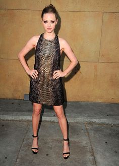 Las mejor vestidas - Amanda Seyfried - Gucci