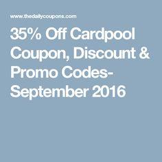 cardpool coupon