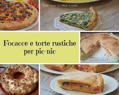 Focacce e torte rustiche per pic-nic