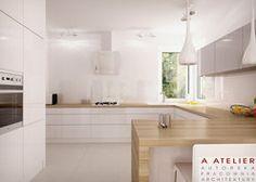 #kuchnia #nowoczesna #modern #kitchen #projekt #wnetrz Rafaello, A Atelier