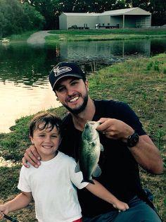 Luke and Tate fishing ❤️