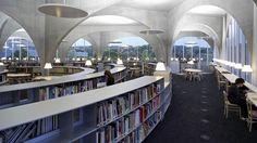 El arquitecto Toyo Ito recibe el premio Pritzker 2013 por sus obras - Una de las obras de Ito es la Biblioteca de la Universidad Tama Art en Tokio (EFE).