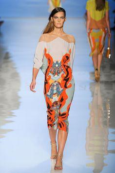 Etro at Milan Fashion Week Spring 2012 - StyleBistro