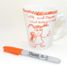 Sharpie Pen Project – Coffee Cup Love — craftbits.com