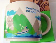 New Starbucks 2017 Vancouver Island British Columbia Canada Coffee Mug YAH