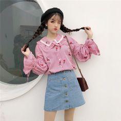 korean fashion street style dress lace asian style asian fashion young style beret style
