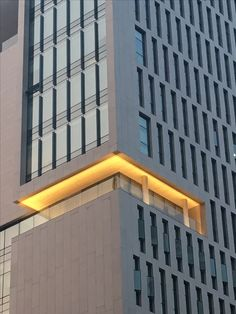 ceiling light Facade Lighting, Cove Lighting, Exterior Lighting, Outdoor Lighting, Canopy Lights, Ceiling Lights, Arch Light, Architectural Lighting Design, Green Facade