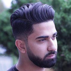 Long Top, Short Sides + Beard