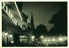 Kaffee Kranzler, Berlin-Kurfürstendamm bei Nacht 1936