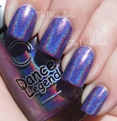 The PolishAholic: Dance Legend New Prisms Collection Swatches - Cosmic Rainbow