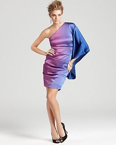 Nicole Miller Ombre Dress $485. WANT RIGHT NOW!