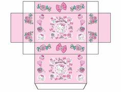 Free printable // Mini // Box // Hello Kitty